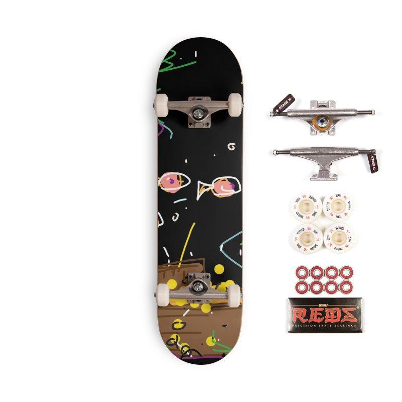 Treasure Accessories Skateboard by rimadi's Artist Shop