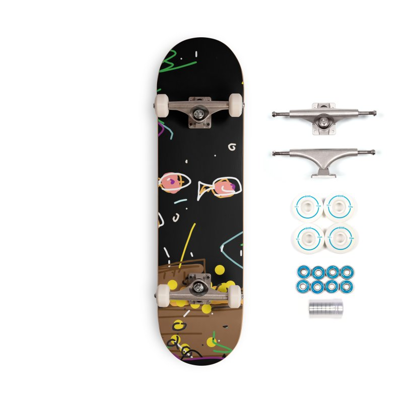 Treasure Accessories Complete - Basic Skateboard by rimadi's Artist Shop