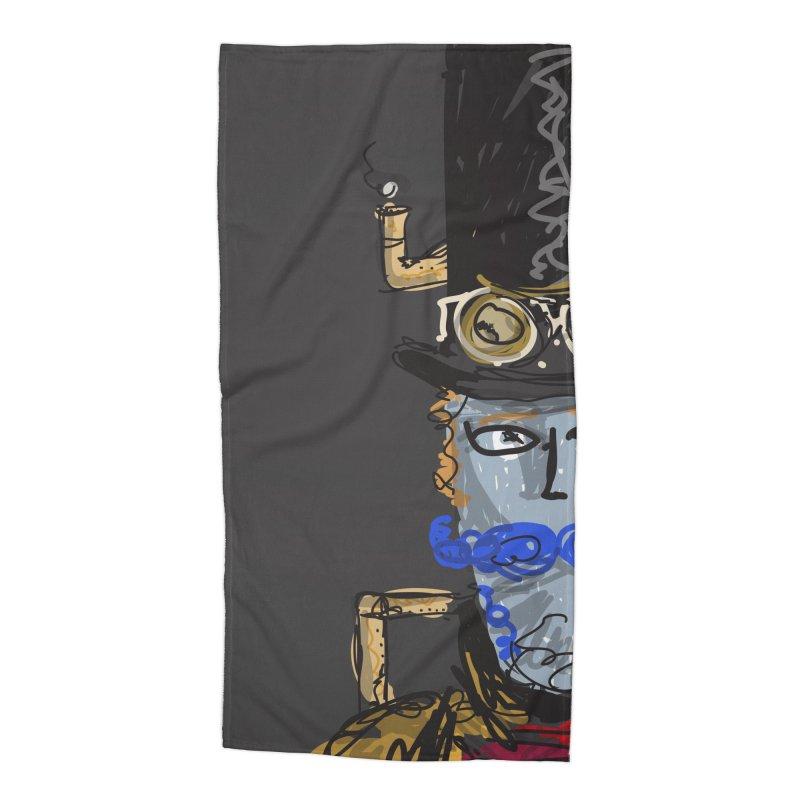 Steampunk Accessories Beach Towel by rimadi Shop