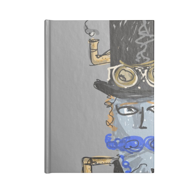 Steampunk Accessories Notebook by rimadi Shop
