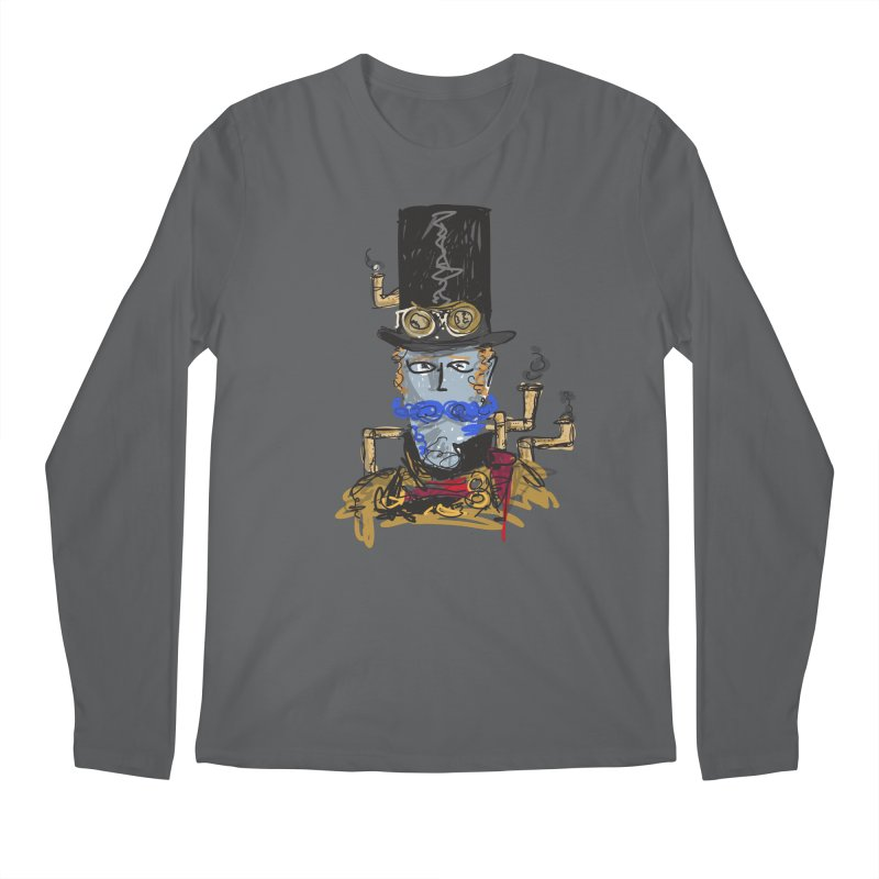 Steampunk Men's Longsleeve T-Shirt by rimadi Shop