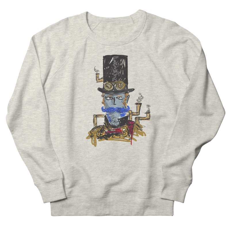 Steampunk Men's Sweatshirt by rimadi Shop