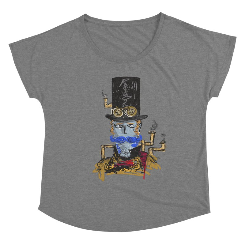 Steampunk Women's Scoop Neck by rimadi Shop