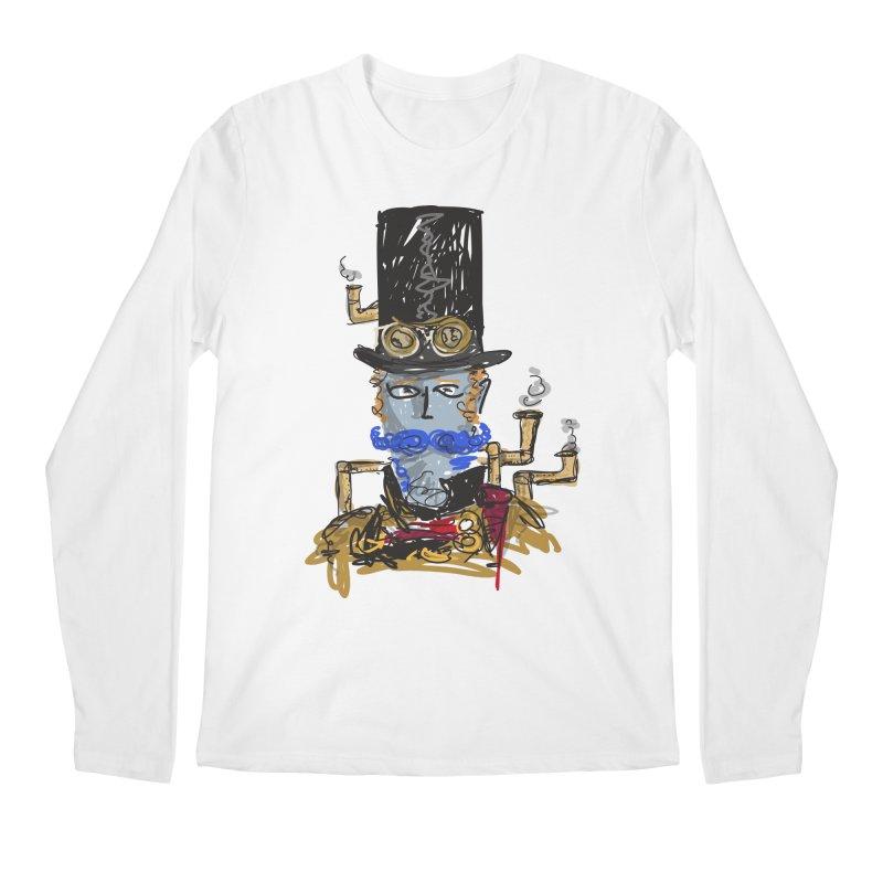 Steampunk Men's Longsleeve T-Shirt by rimadi Shop