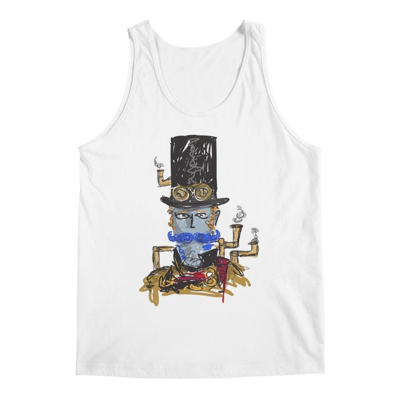 Steampunk Men's Tank by rimadi Shop