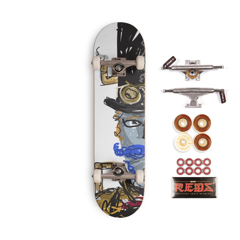 Steampunk Accessories Skateboard by rimadi Shop