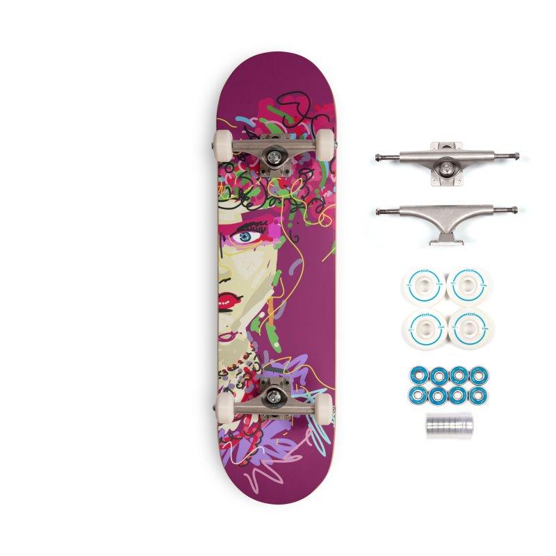 Flower girl Accessories Skateboard by rimadi Shop
