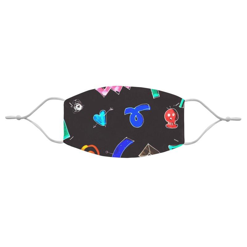 Dark motif Accessories Face Mask by rimadi Shop