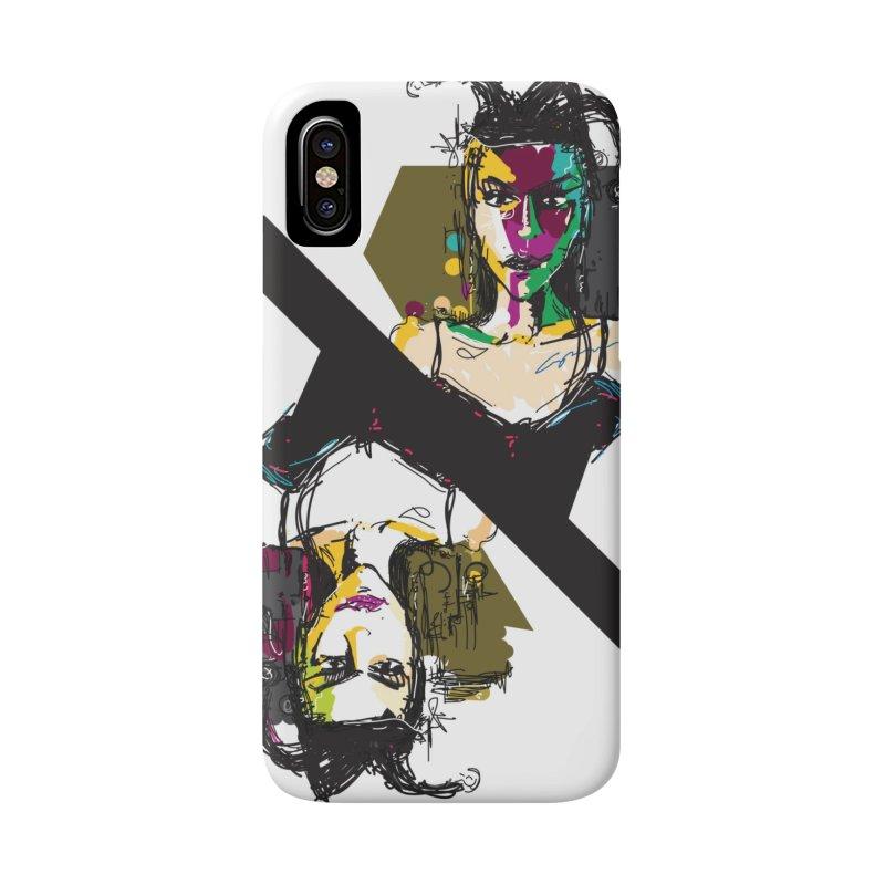 Black Joker Accessories Phone Case by rimadi's Artist Shop