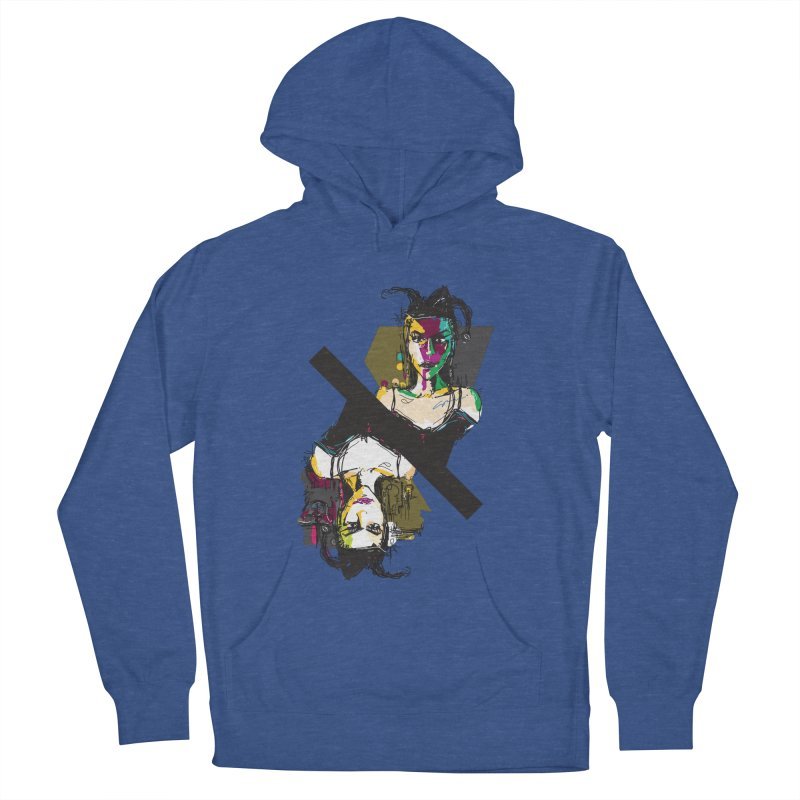 Black Joker Women's French Terry Pullover Hoody by rimadi's Artist Shop