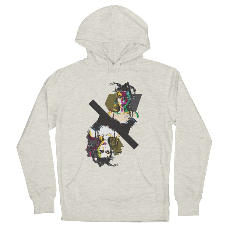 Black Joker Women's Pullover Hoody by rimadi's Artist Shop