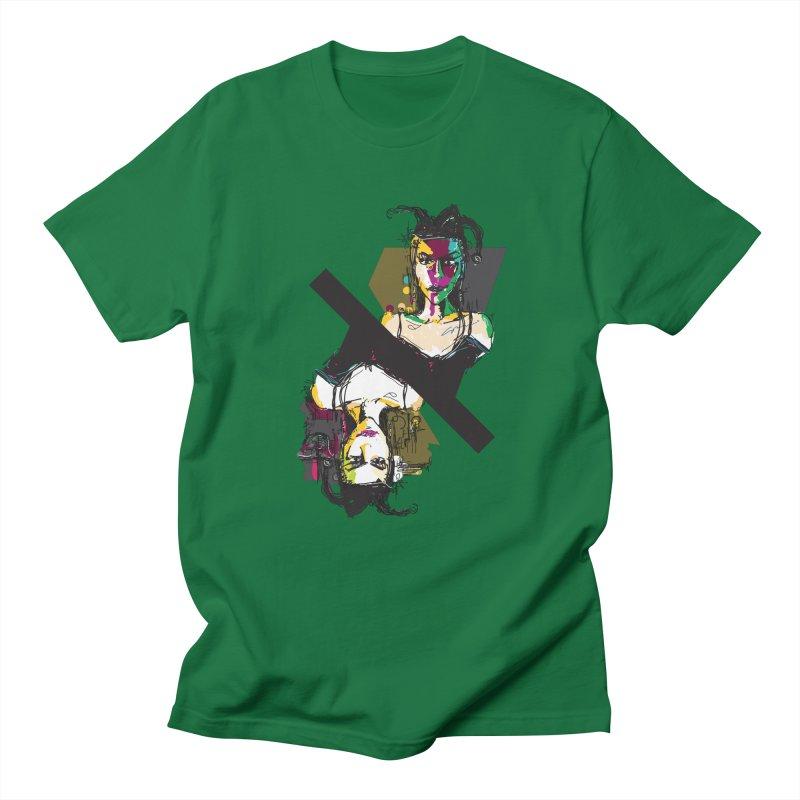 Black Joker Women's Unisex T-Shirt by rimadi's Artist Shop