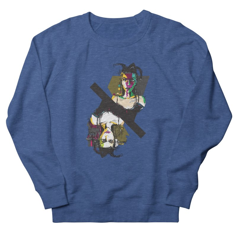 Black Joker Women's Sweatshirt by rimadi's Artist Shop