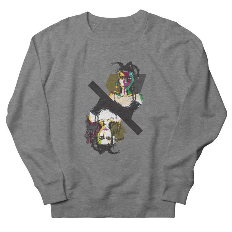 Black Joker Men's French Terry Sweatshirt by rimadi's Artist Shop