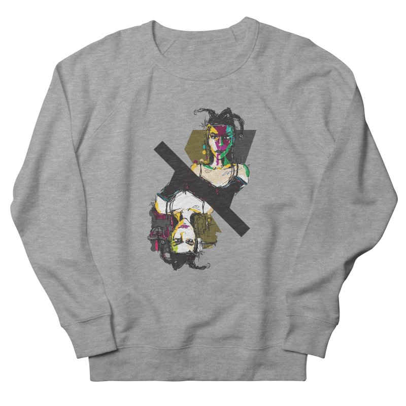 Black Joker Men's French Terry Sweatshirt by rimadi's Artist Shop
