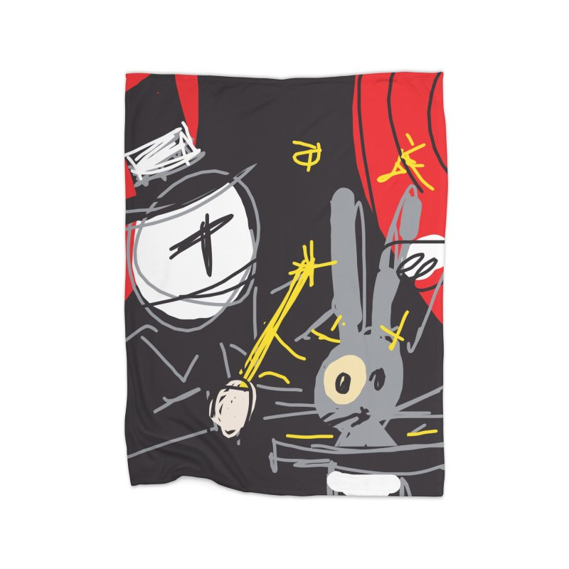 Magic Trick Home Blanket by rimadi's Artist Shop