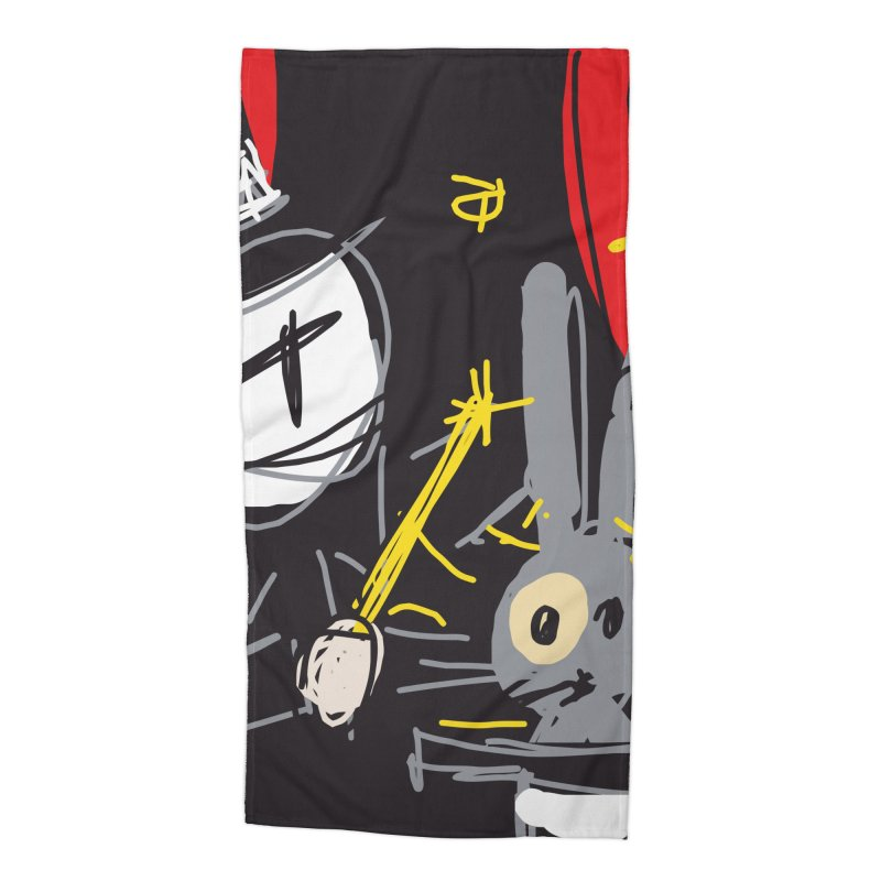 Magic Trick Accessories Beach Towel by rimadi's Artist Shop