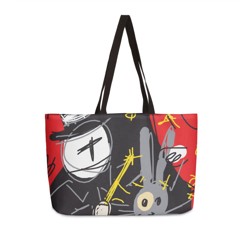 Magic Trick Accessories Weekender Bag Bag by rimadi's Artist Shop