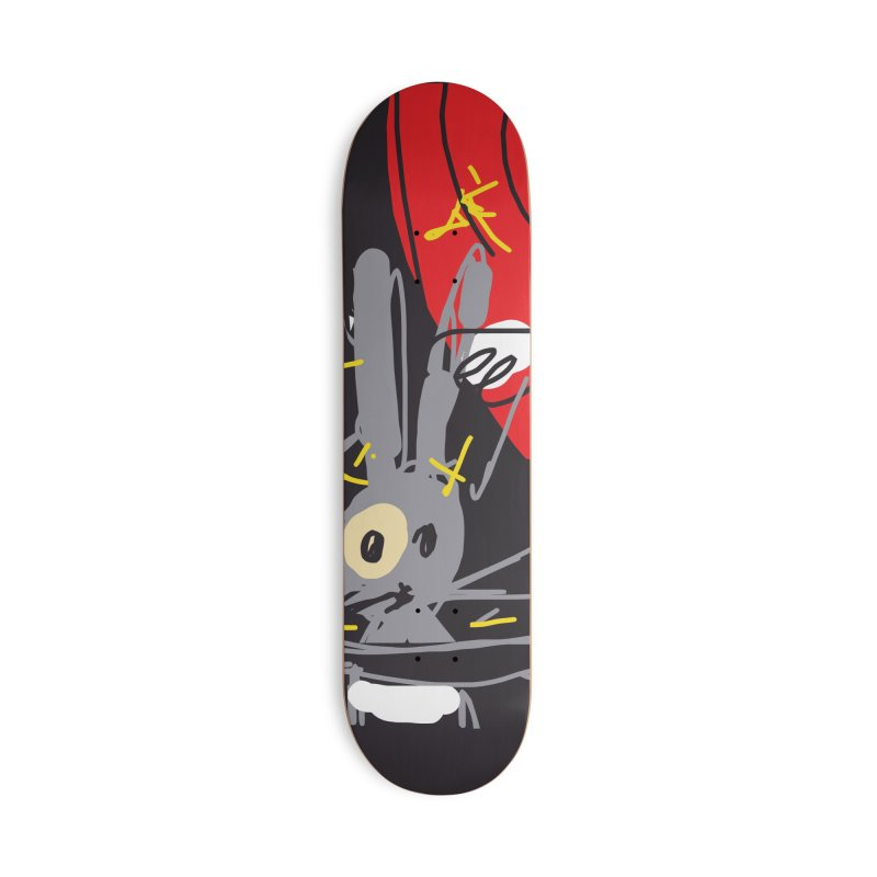 Magic Trick Accessories Deck Only Skateboard by rimadi's Artist Shop
