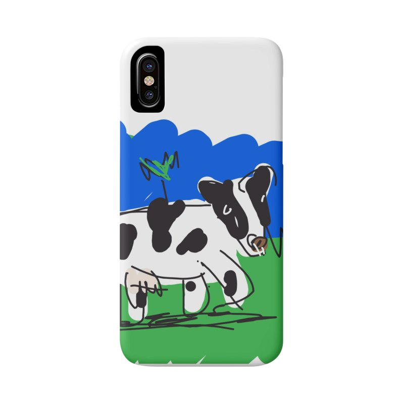 Cow Accessories Phone Case by rimadi's Artist Shop