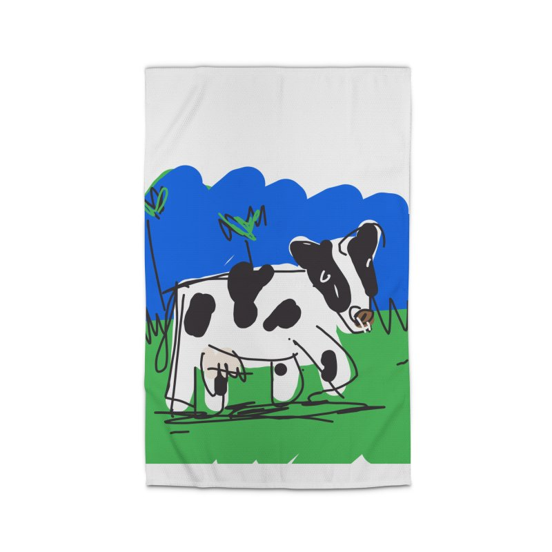 Cow Home Rug by rimadi's Artist Shop