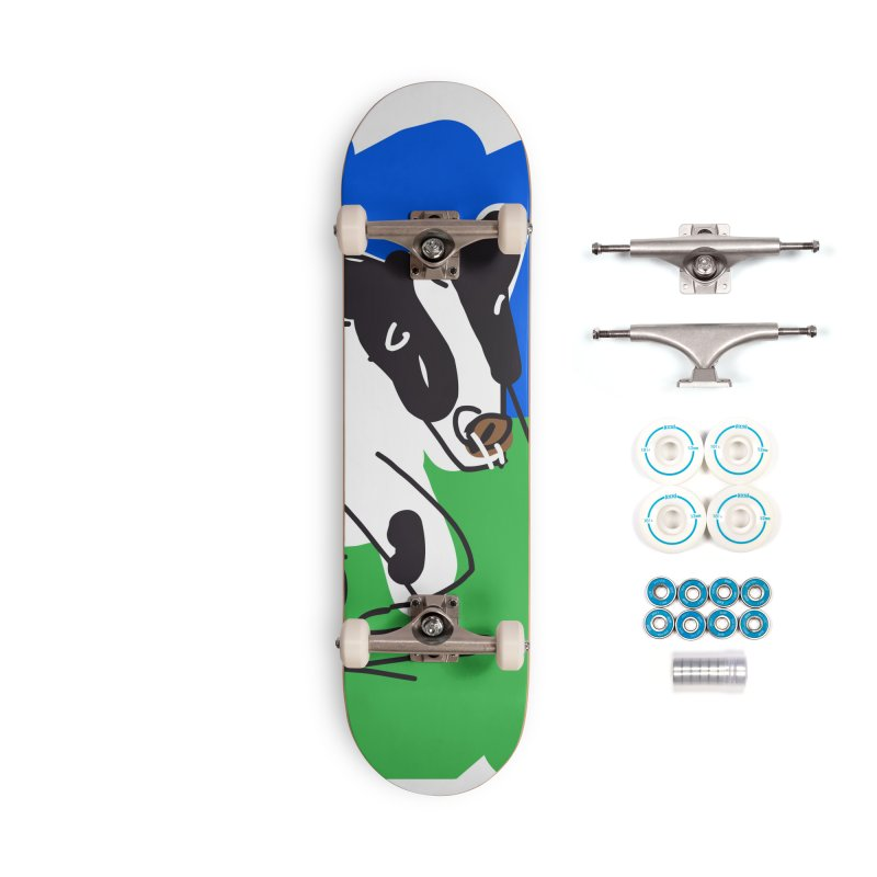 Cow Accessories Complete - Basic Skateboard by rimadi's Artist Shop