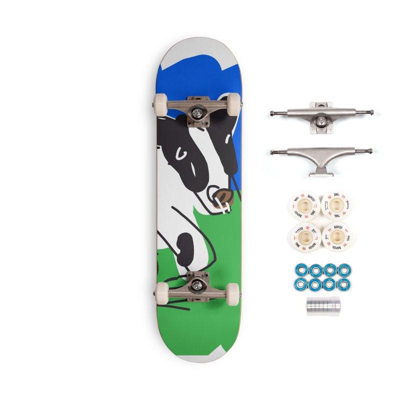 Cow Accessories Complete - Premium Skateboard by rimadi's Artist Shop