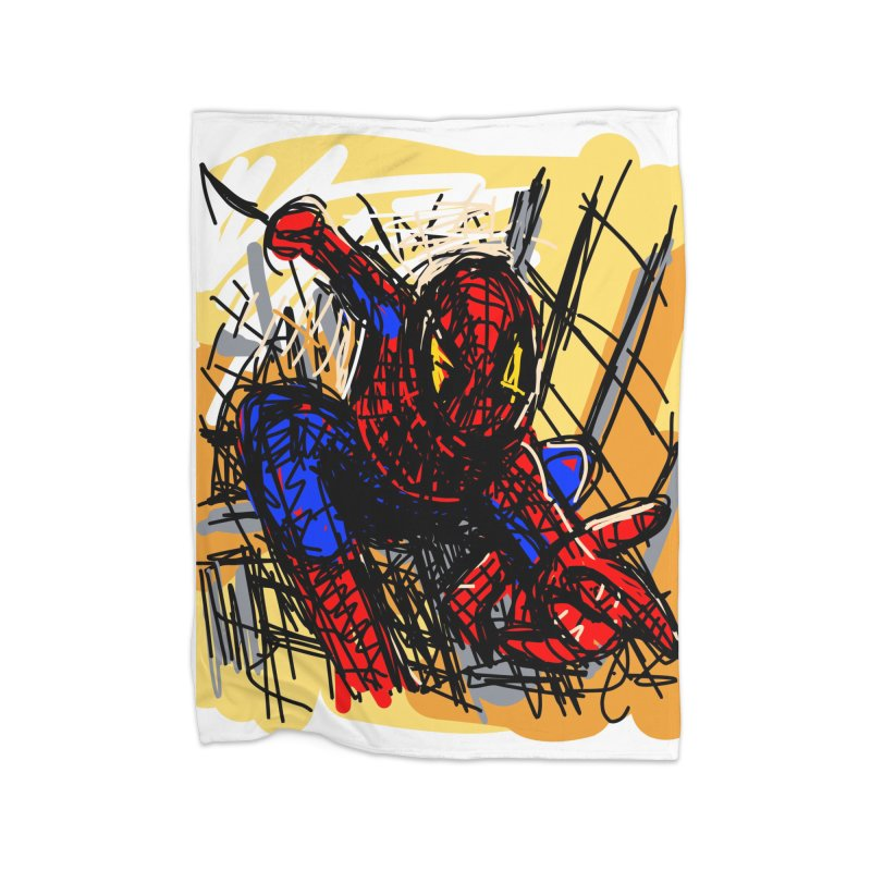 Spidey Home Blanket by rimadi's Artist Shop