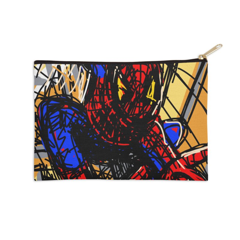 Spidey Accessories Zip Pouch by rimadi's Artist Shop