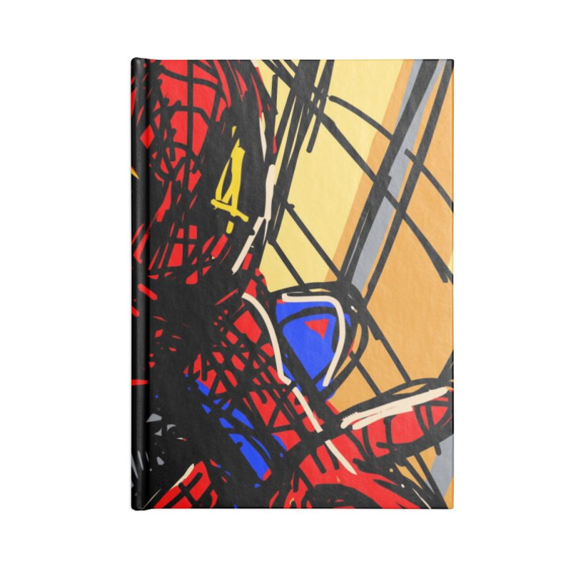 Spidey Accessories Lined Journal Notebook by rimadi's Artist Shop