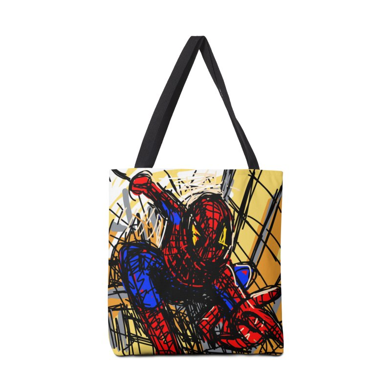 Spidey Accessories Tote Bag Bag by rimadi's Artist Shop