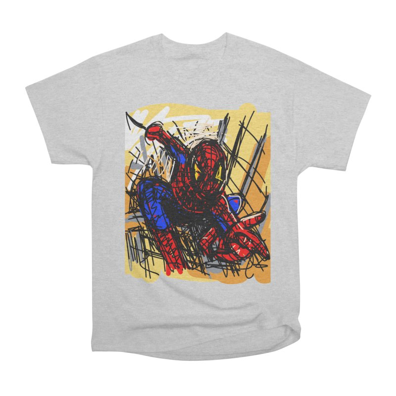 Spidey Men's Classic T-Shirt by rimadi's Artist Shop