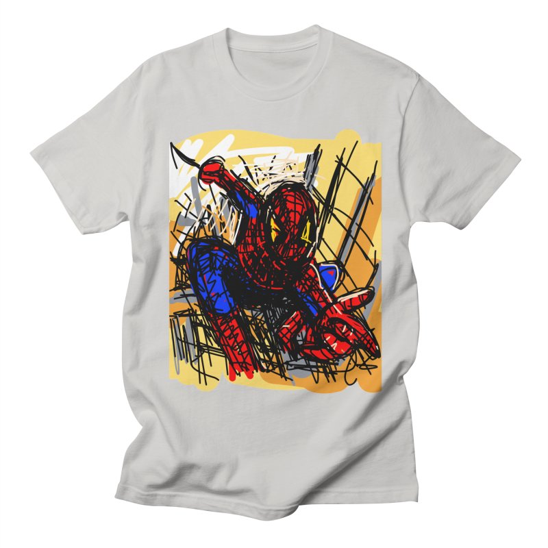 Spidey Men's French Terry Sweatshirt by rimadi's Artist Shop