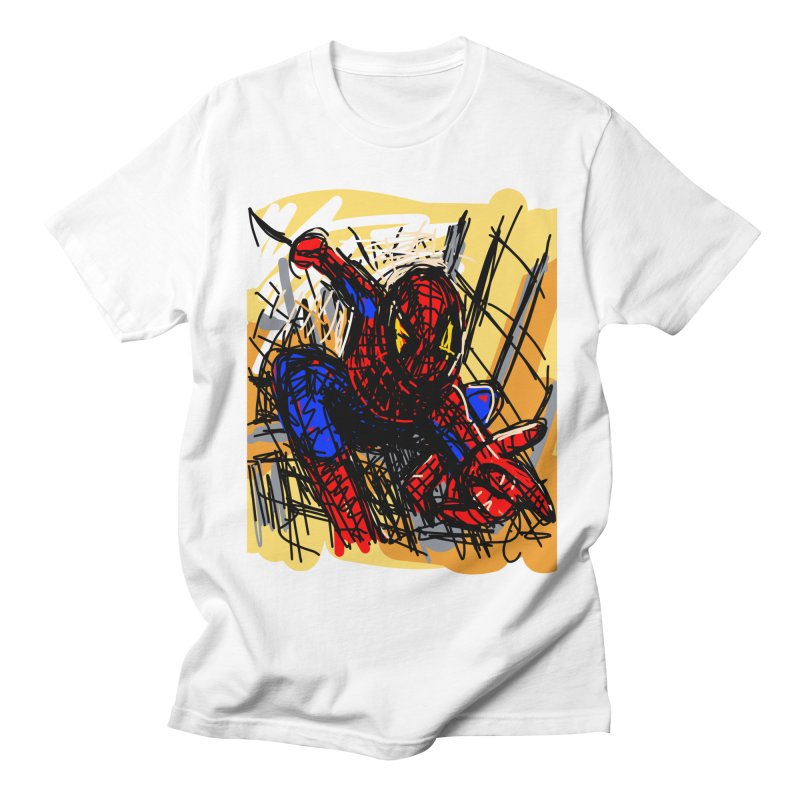 Spidey Men's T-Shirt by rimadi's Artist Shop