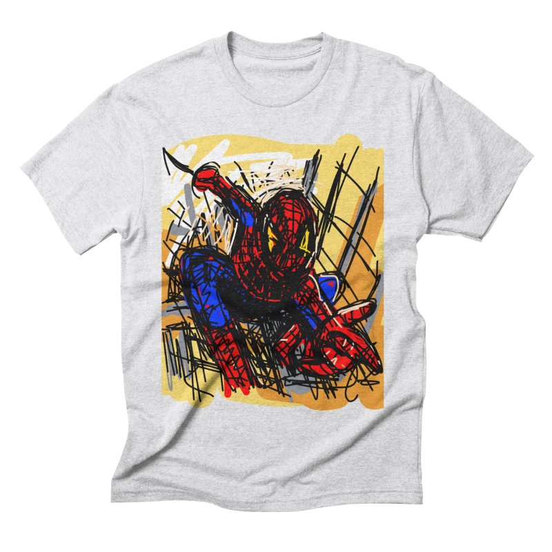 Spidey Men's Triblend T-Shirt by rimadi's Artist Shop