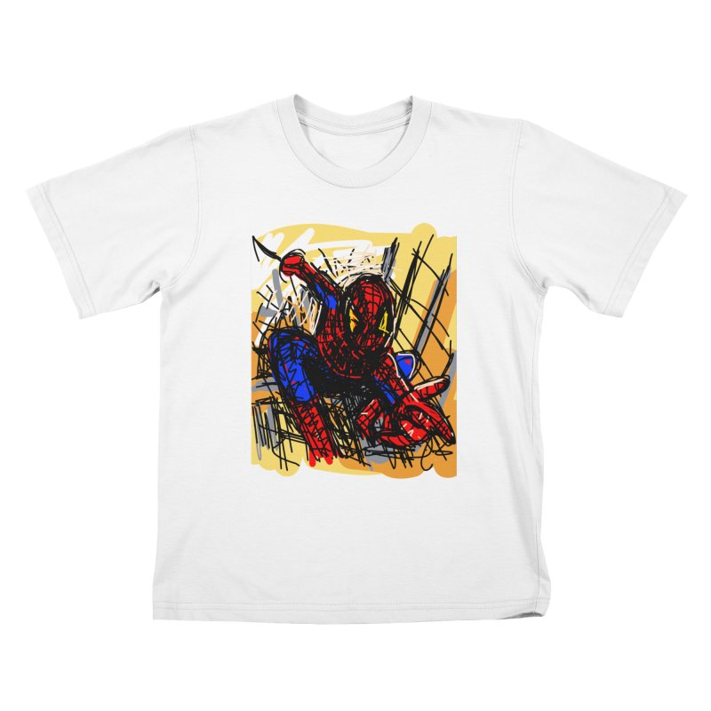 Spidey Kids T-Shirt by rimadi Shop