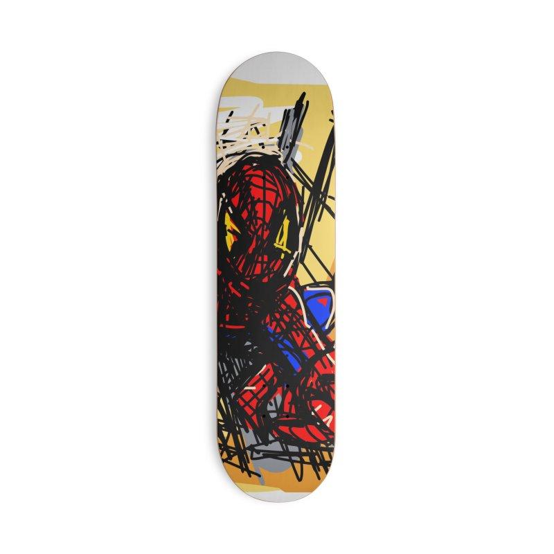 Spidey Accessories Skateboard by rimadi Shop