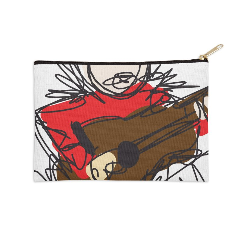 Guitar solo Accessories Zip Pouch by rimadi's Artist Shop