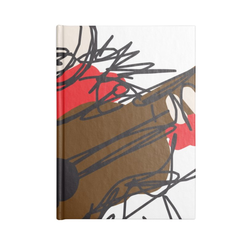 Guitar solo Accessories Notebook by rimadi's Artist Shop