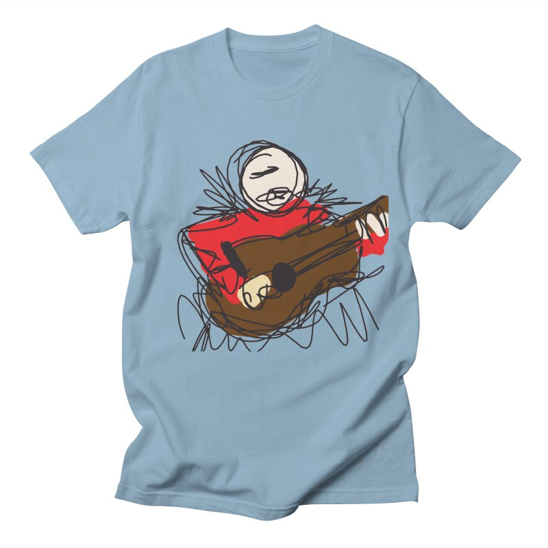 Guitar solo Men's T-Shirt by rimadi's Artist Shop