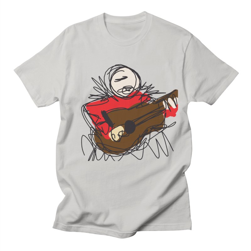 Guitar solo Men's T-Shirt by rimadi's Artist Shop