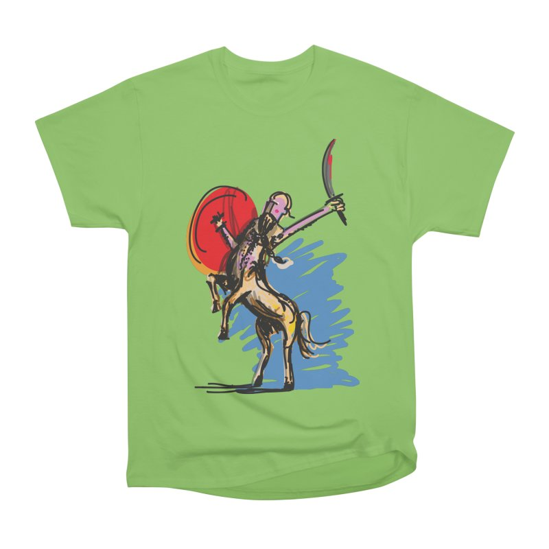 Centaur Men's Heavyweight T-Shirt by rimadi's Artist Shop