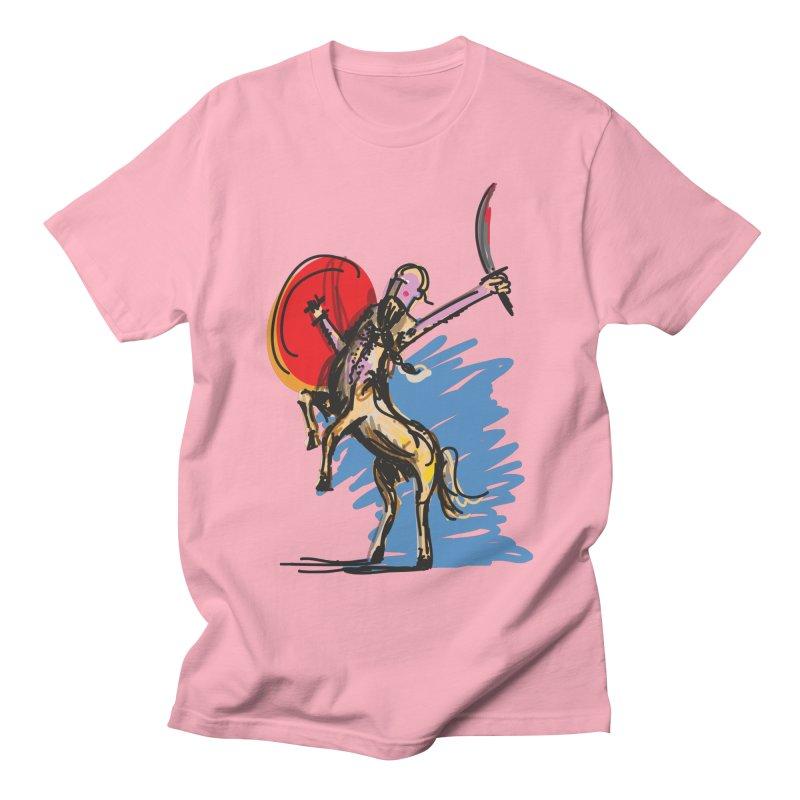 Centaur Men's Regular T-Shirt by rimadi's Artist Shop