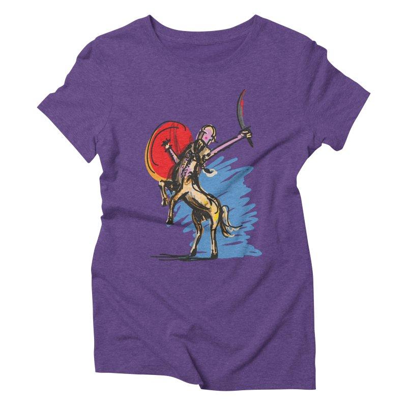 Centaur Women's Triblend T-Shirt by rimadi's Artist Shop