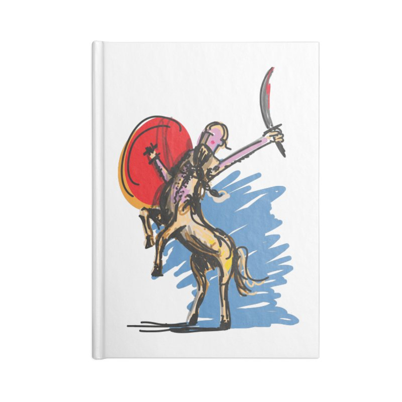 Centaur Accessories Notebook by rimadi's Artist Shop
