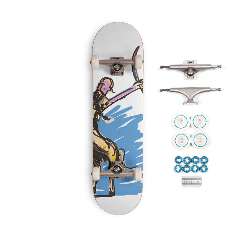 Centaur Accessories Complete - Basic Skateboard by rimadi's Artist Shop