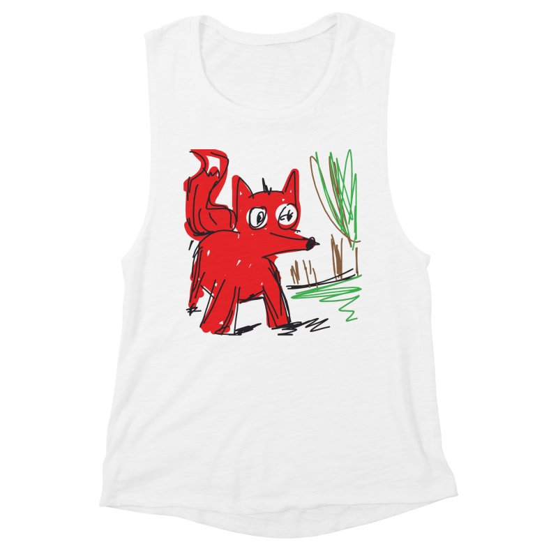 Fox Women's Tank by rimadi Shop