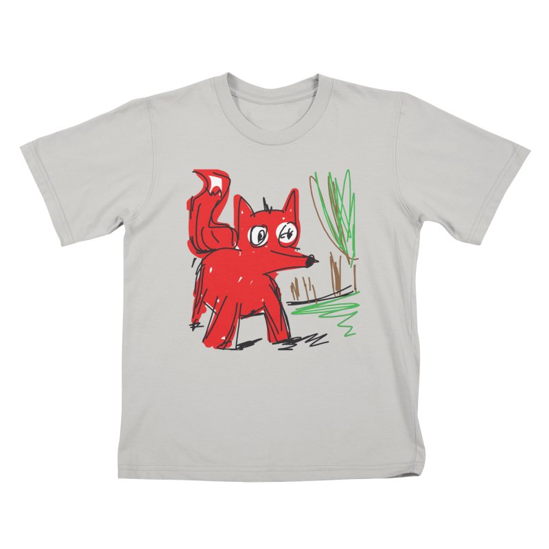 Fox Kids T-Shirt by rimadi's Artist Shop