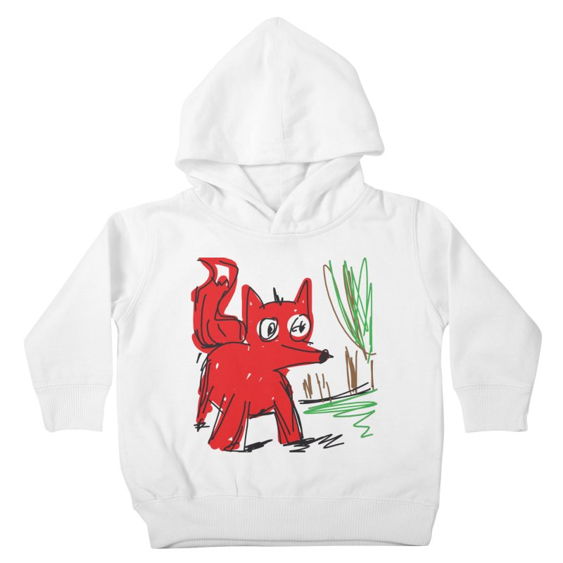 Fox Kids Toddler Pullover Hoody by rimadi's Artist Shop