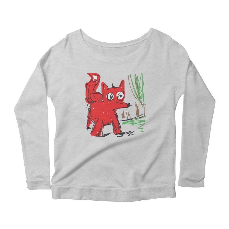 Fox Women's Longsleeve T-Shirt by rimadi Shop